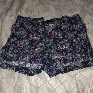 Printed Forever 21 Shorts